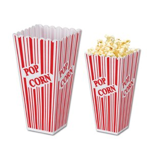 Awards Night Plastic Popcorn Box (Set of 6) by The Beistle Company