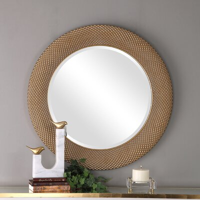 Gold Round Mirrors You Ll Love In 2020 Wayfair