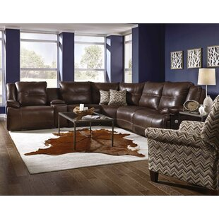Major League Reclining Sectional by Southern Motion