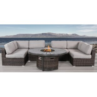 Recio 8 Piece Sectional Set with Cushions