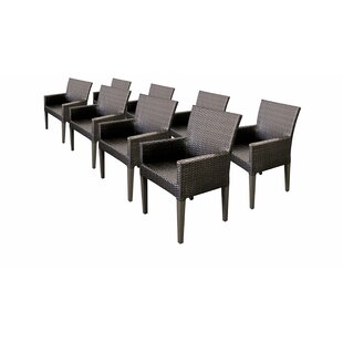 Belle Patio Dining Chair (Set of 8)