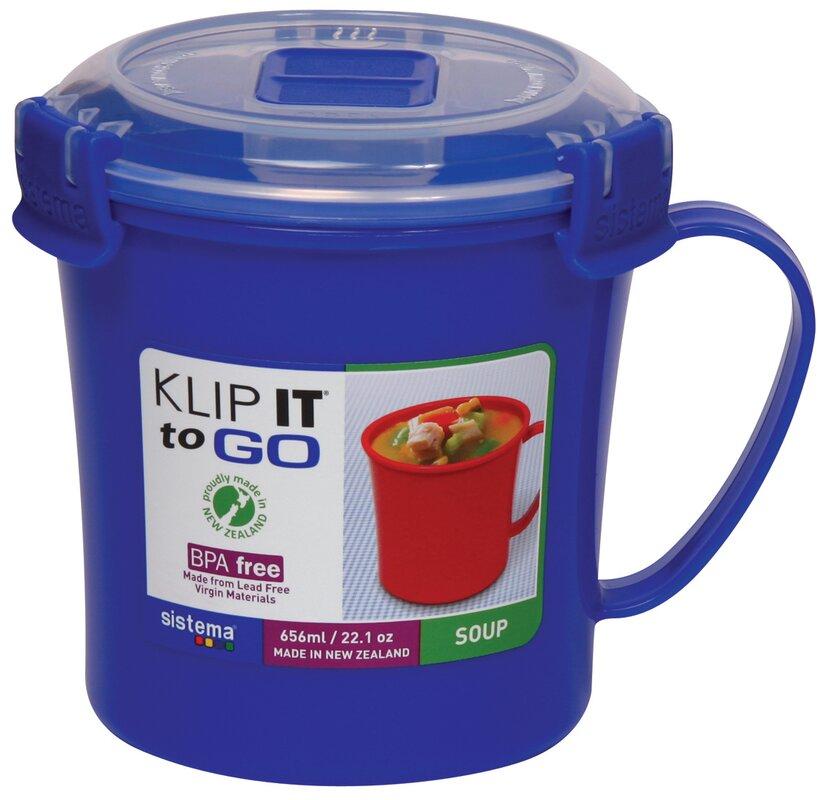 Klip It Soup Mug