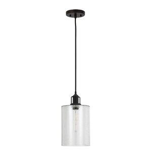 Lunenburg 1-Light Cylinder Pendant by Zipcode Design