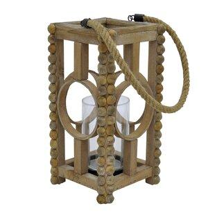 Bungalow Rose Wood Lantern