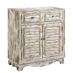 Abbotsford 2 Door, 1 Drawer Accent Cabinet by Rosecliff Heights