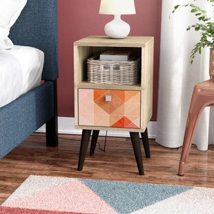 Althea End Table by Ebern Designs