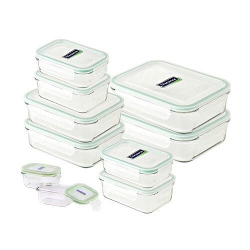 10-tlg. Frischhaltedosen-Set | Küche und Esszimmer > Aufbewahrung > Vorratsdosen | Glasslock