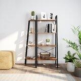 54 H x 22 W Metal Etagere Bookcase by Ballucci