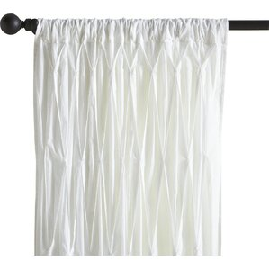 Estella Cotton Voile Single Curtain Panel