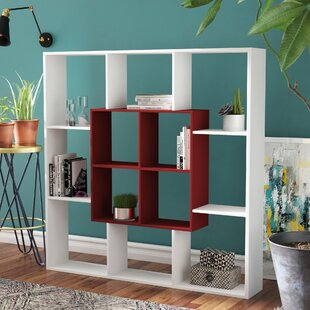 Gentle Modern Geometric Bookcase