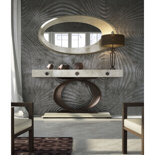 Omeo Console Table And Mirror Set (Set Of 2) By Orren Ellis