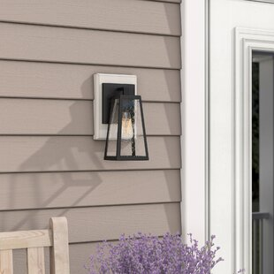 Great choice Aurelia 1-Light Outdoor Wall Lantern By Union Rustic