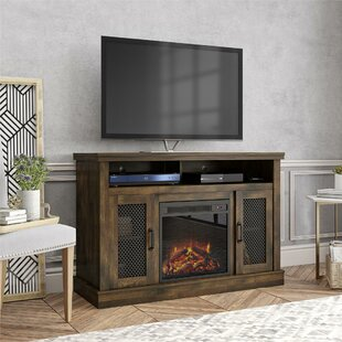 Arabi TV Stand for TVs up to 55 with Fireplace Included