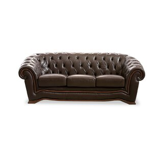 Find a Barkell Leather Sofa by Canora Grey Reviews (2019) & Buyer's Guide