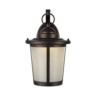 Alcott Hill Brasher 1-Light Outdoor Wall Lantern