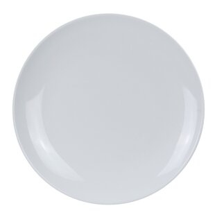 Peters Coupe Pattern Round Melamine Dinner Plate (Set of 12)