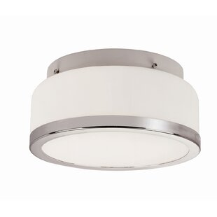 TransGlobe Lighting 1-Light Flush Mount