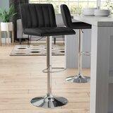 Alandra Swivel Adjustable Height Bar Stool by Wade Logan®