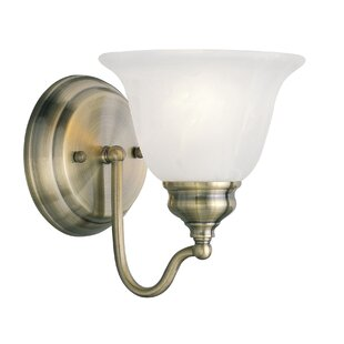 Cicco 1-Light Bath Sconce by Charlton Home
