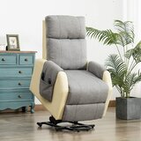 Brailey Power Lift Assist Recliner with Massage by Latitude Run®