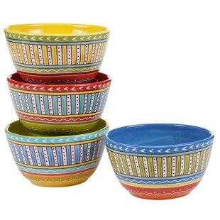 Valencia Ice Cream Bowl (Set of 4)