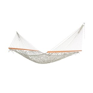 Highland Dunes Biscayne Rope Double Tree Hammock