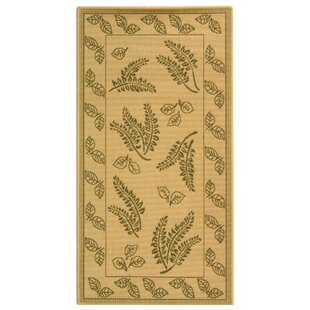 Amaryllis Brown/Tan Indoor/Outdoor Area Rug