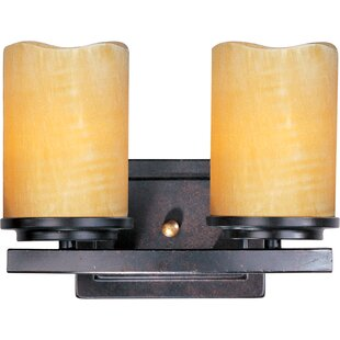 Price comparison Carovilli 2-Light Vanity Light By Loon Peak