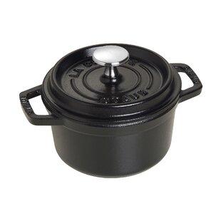 Staub Cast Iron 0.75 Qt. Round Dutch Oven