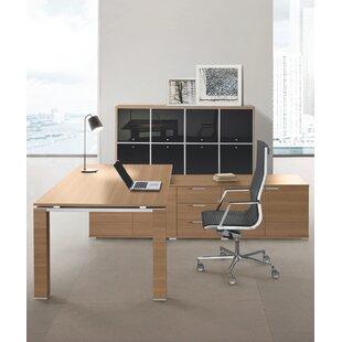 Concetta Executive Desk By Ebern Designs