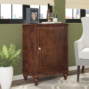 Alcott Hill Barron Bar Cabinet with Wine Storage