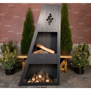 Ember Haus Sun King Steel Wood Burning Ou..