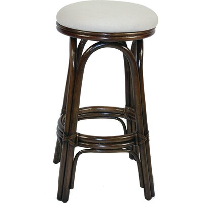 "Brees 30"" Swivel Bar Stool by Beachcrest Home"