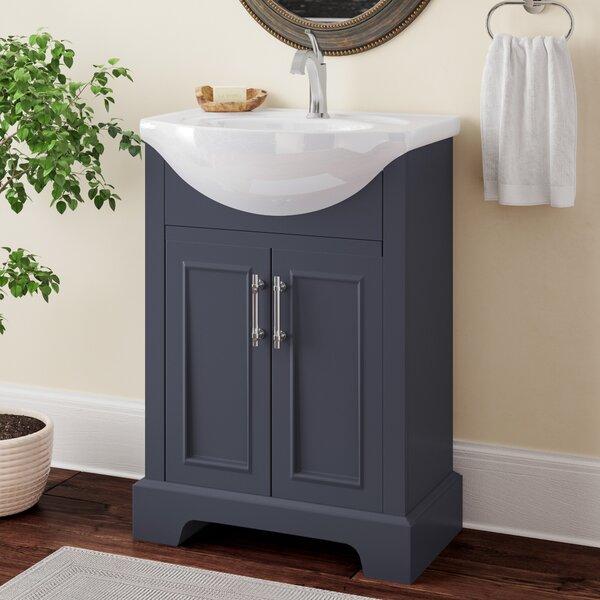 Charlton Home Alessandro 24 Single Bathroom Vanity Set Reviews Wayfair