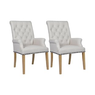 Adan Upholstered Dining Chair (Set Of 2) By Rosdorf Park