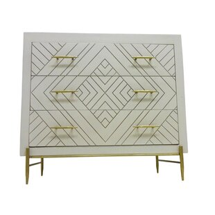 Wilbraham 3 Drawer Chest by Everly Quinn