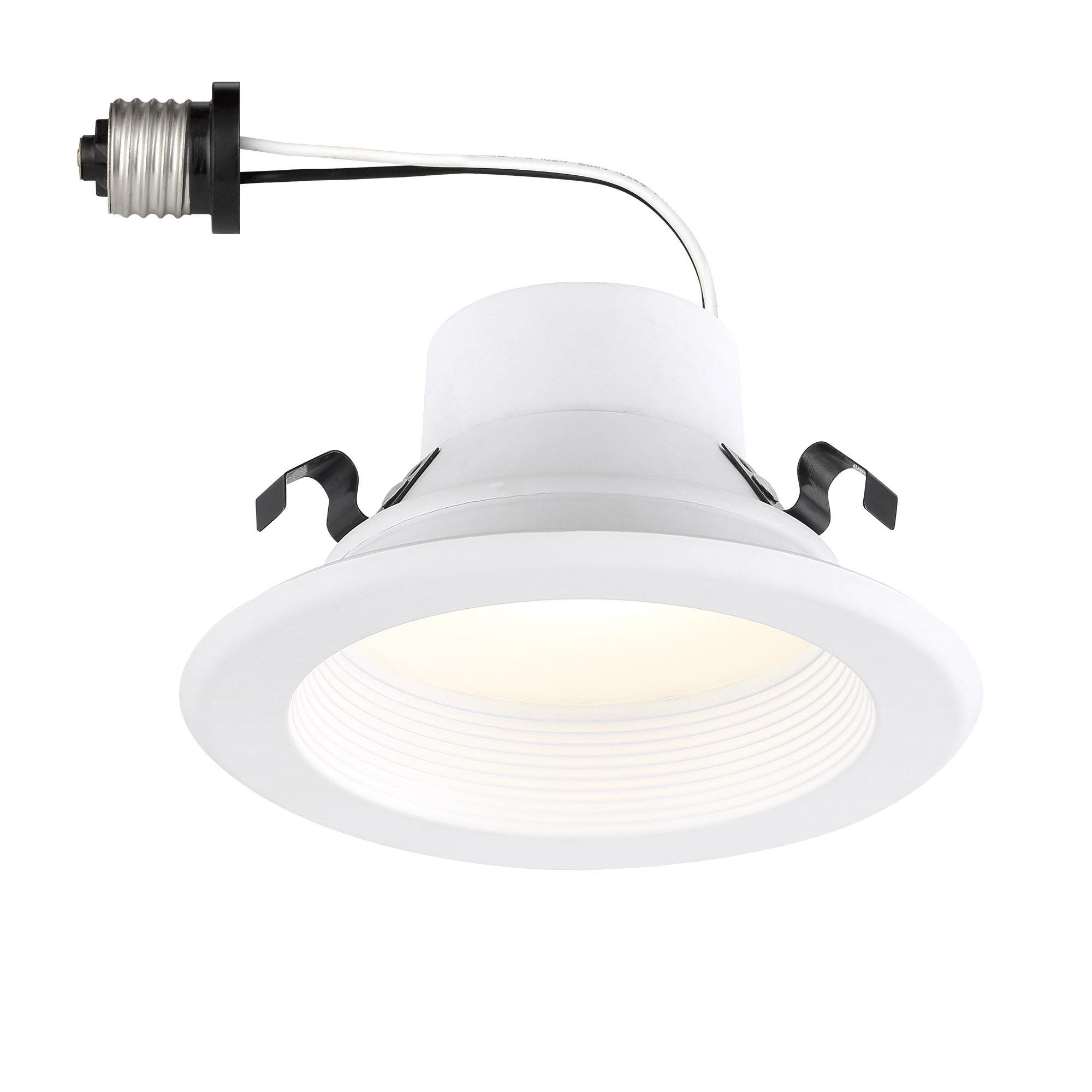 Designers Fountain 4 Remodel Led Retrofit Recessed Lighting Kit Wayfair