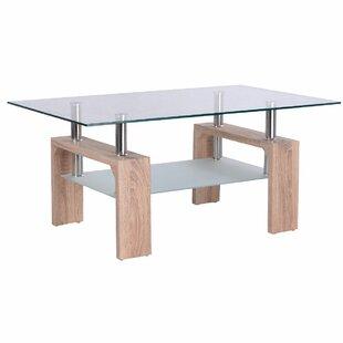 Orren Ellis Machado Glass Coffee Table