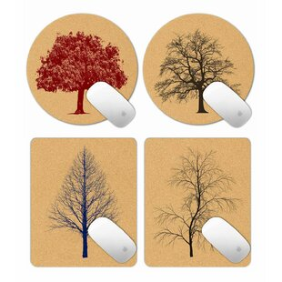 Buller Trees 4 Pieces Mouse Pad Set By Brambly Cottage