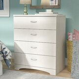 Poulson 4 Drawer Chest by Andover Mills™