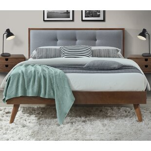 Brazier Queen Upholstered Platform Bed