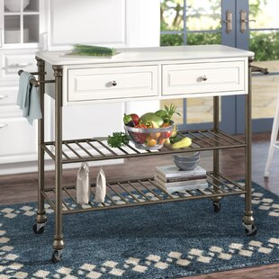 Larose Kitchen Cart Alcott Hill