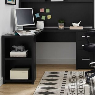 Ebern Designs Canvey L-Shape Computer Desk