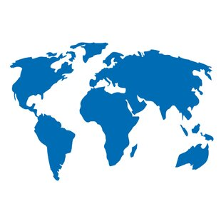 World map decal wayfair gumiabroncs Choice Image