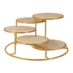 Everly Quinn Freeland 5 Tier Metal Coffee..