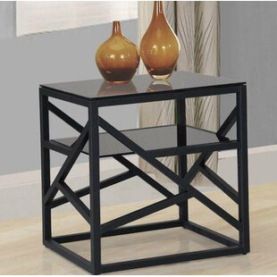 Compare Raheem Tray End Table by Zipcode Design