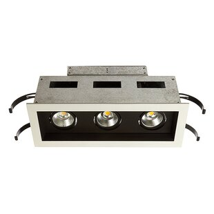 WAC Lighting Mini Multiple 3-Light Remodel Housing 3.5