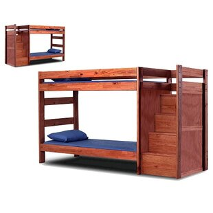 Christiansen Twin Over Twin Standard Bunk Bed With Drawers by Harriet Bee Today Only Sale