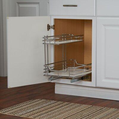 Rangement coulissant sous evier amenagement meuble sous for Rangement sous evier cuisine