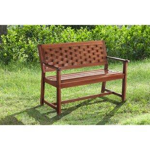 Cornell Parker Bench by Sunjoy